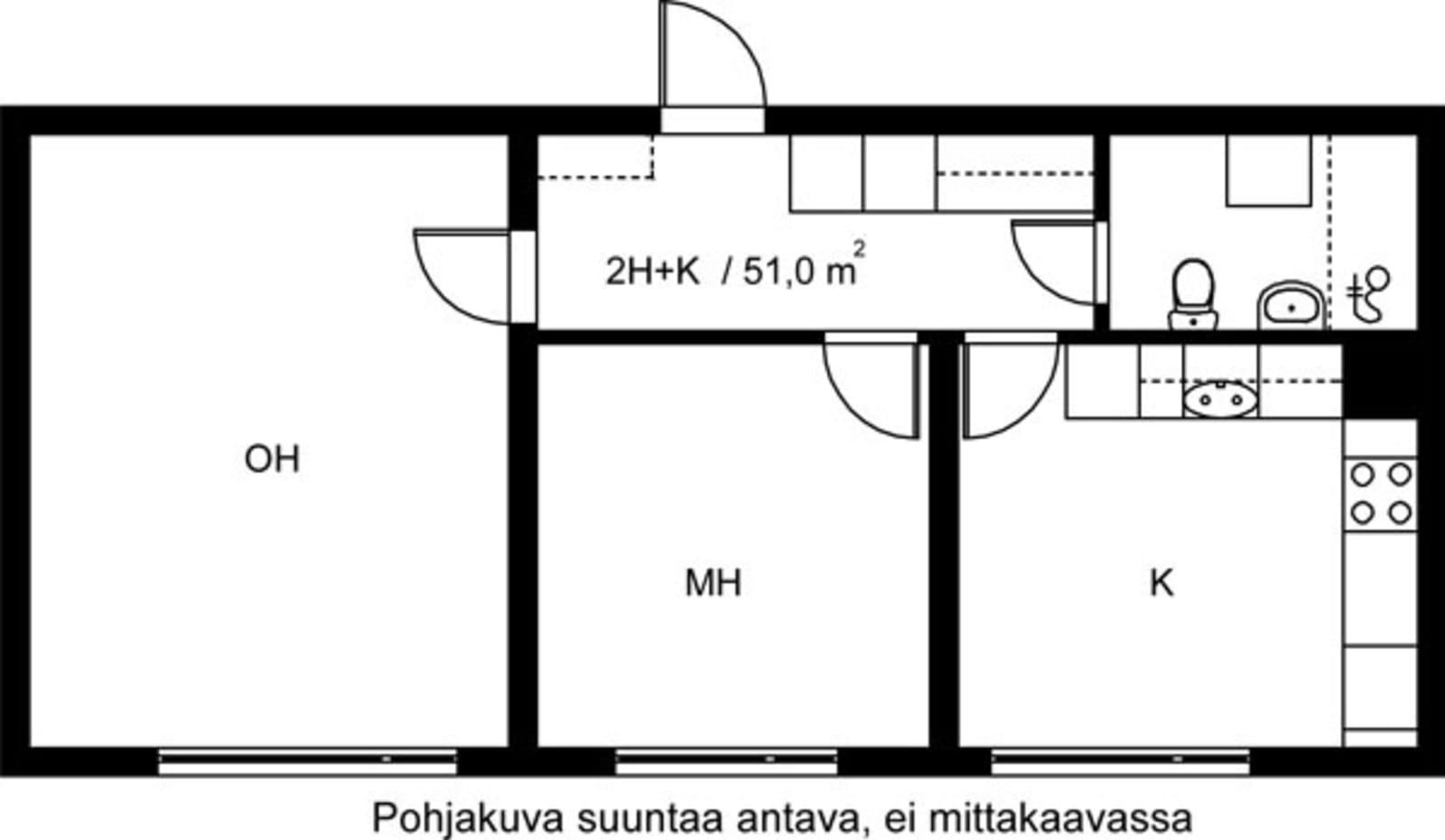 Vantaa, Hakunila, Heporinne 4 C 056