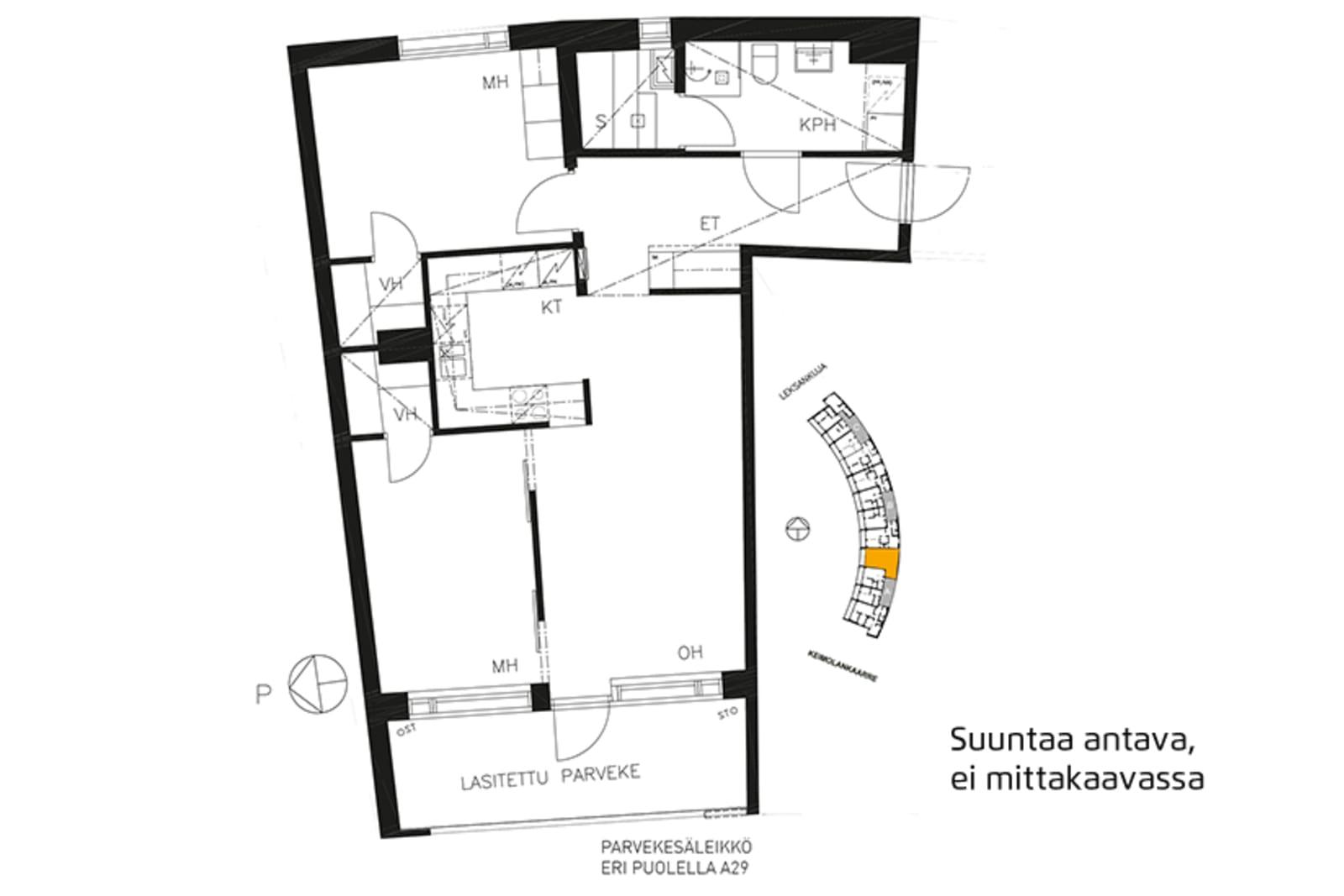 Vantaa, Keimolanmäki, Leksankuja 3 A 029