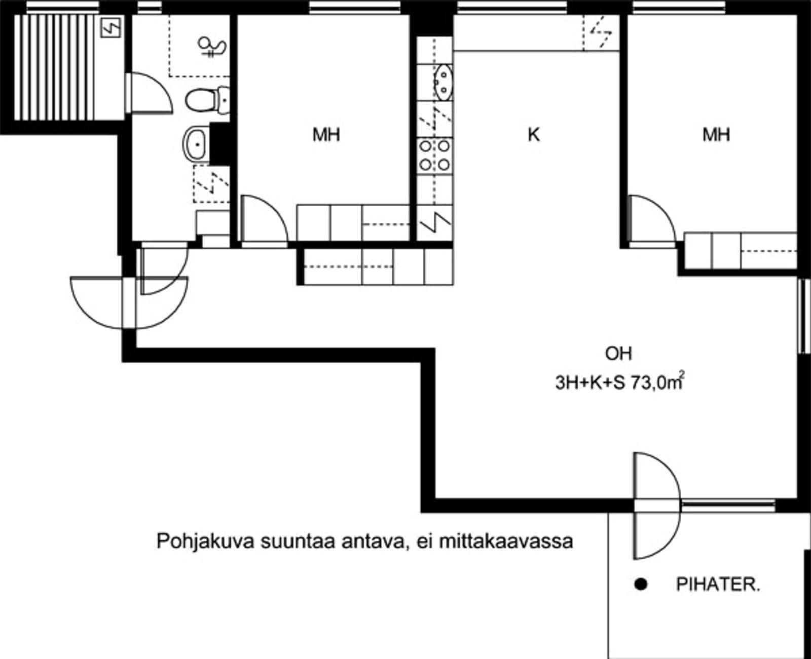 Vantaa, Koivuhaka, Staffaksenkuja 1 D 039