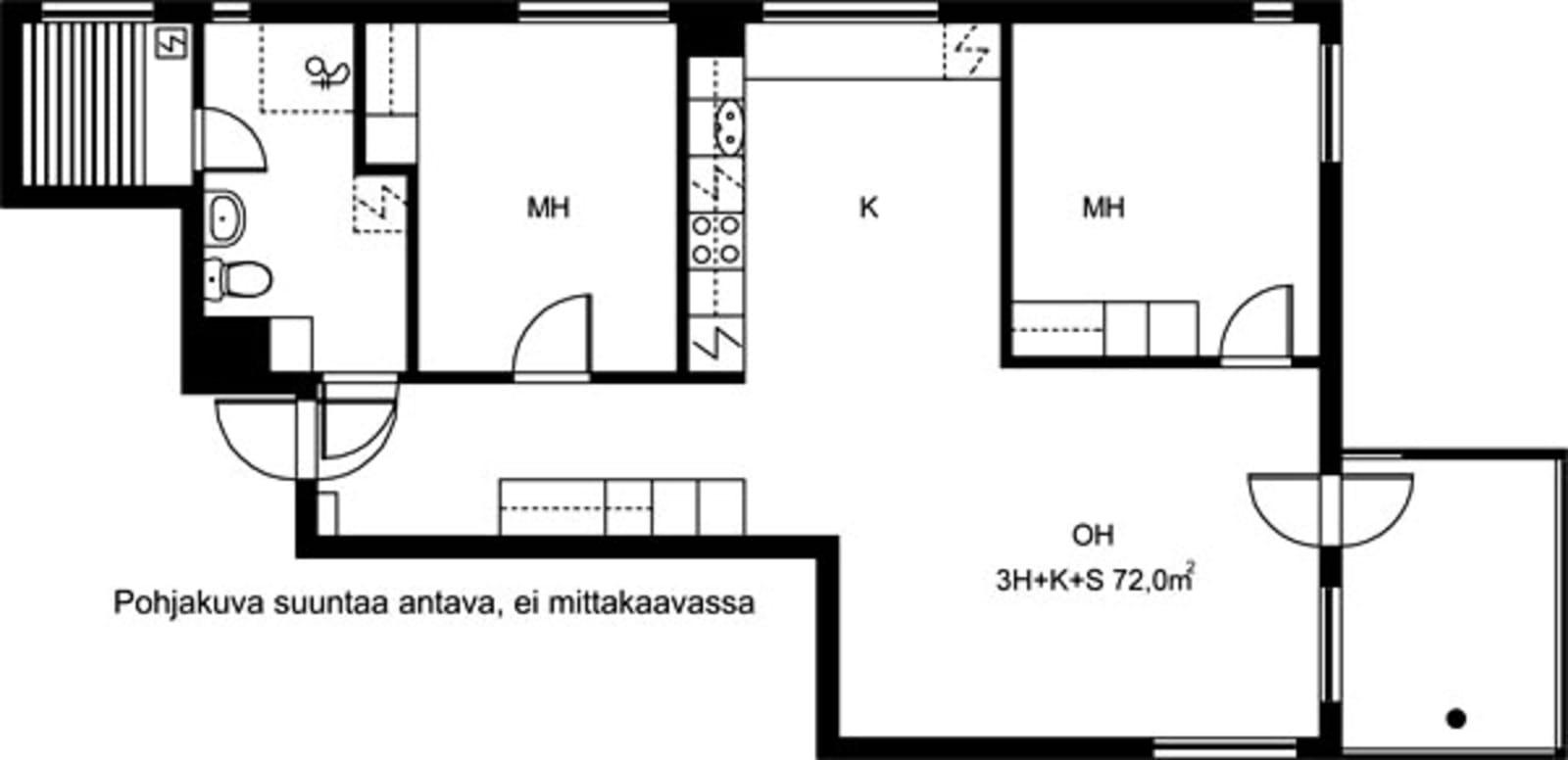 Vantaa, Koivuhaka, Staffaksenkuja 1 C 028