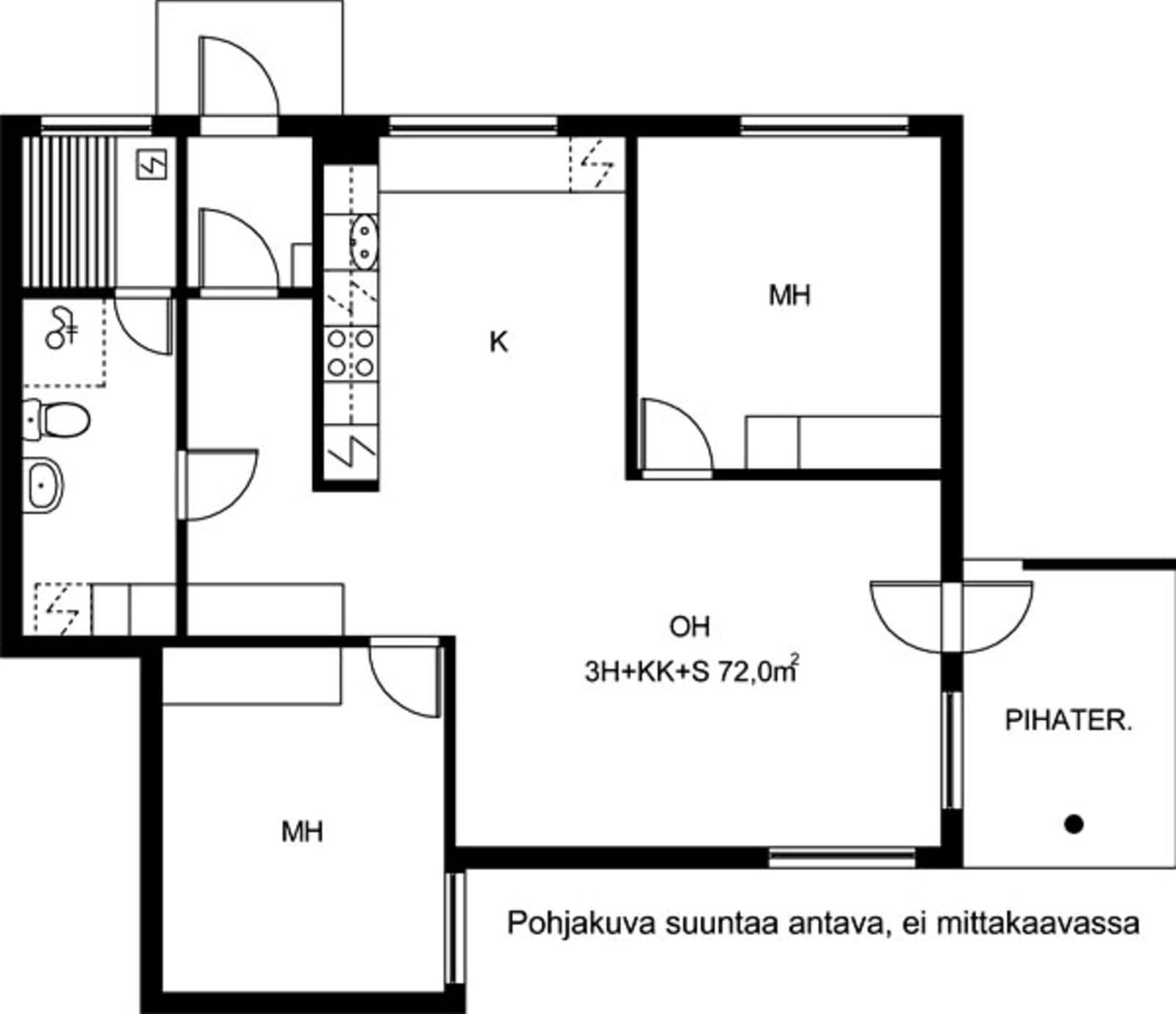 Vantaa, Koivuhaka, Staffaksenkuja 1 C 023
