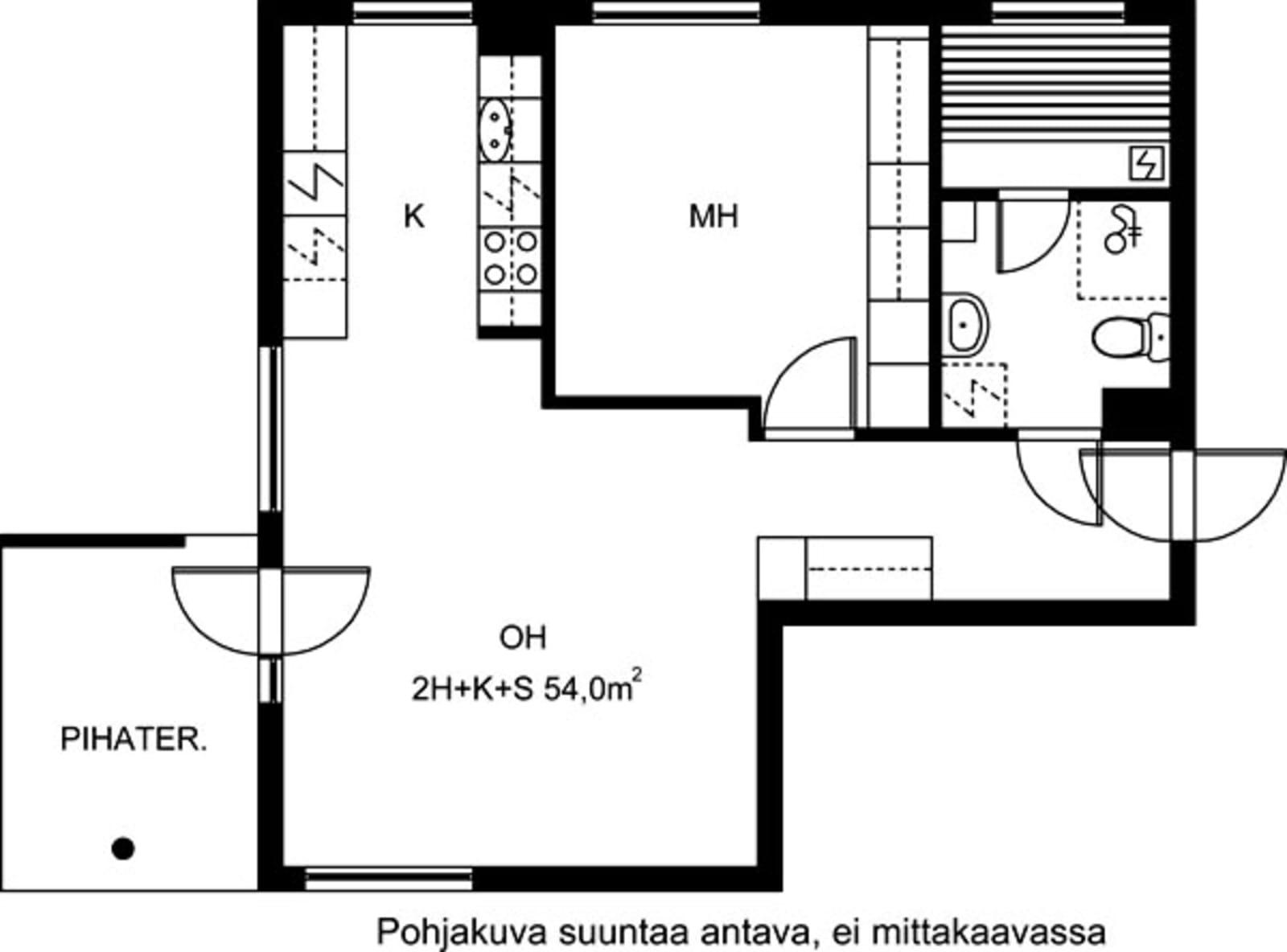 Vantaa, Koivuhaka, Staffaksenkuja 1 A 003