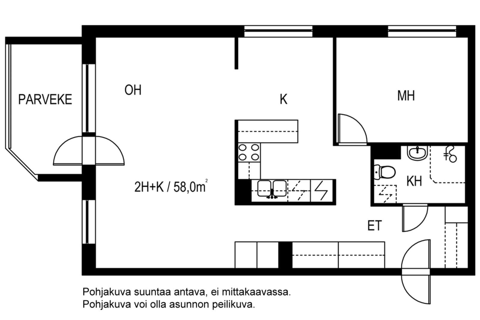 Vantaa, Länsimäki, Tykkikuja 7 A 004