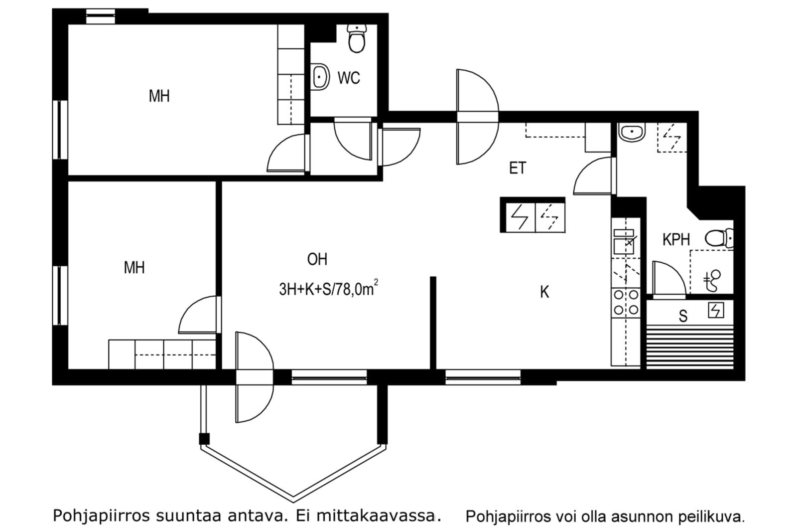 Vantaa, Pakkala, Käräjäkuja 2 A 005