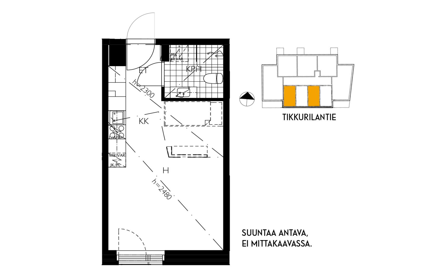 Vantaa, Tikkurila, Orvokkikuja 1b