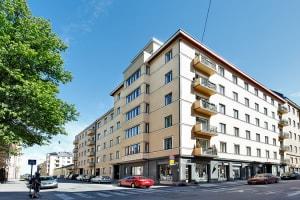 Helsinki, Kruununhaka, Maneesikatu 8, Mariankatu 21