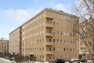 Helsinki, Munkkiniemi, Perustie 16, Kadetintie 20