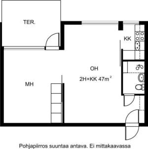 Espoo, Karakallio, Kotkatie 6 D 032