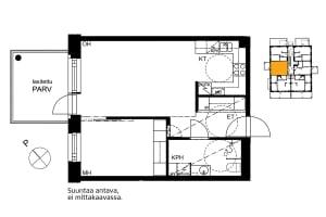 Espoo, Soukka, Kilvoituksentie 1 A 006