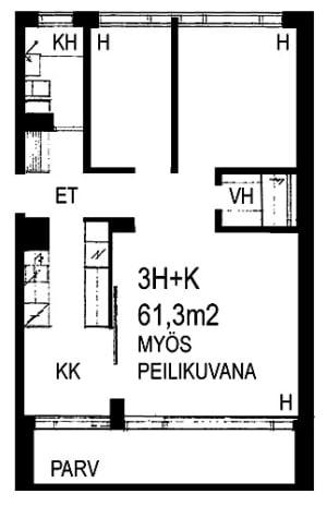 Espoo, Viherlaakso, Viherlaaksonranta 3 A 013