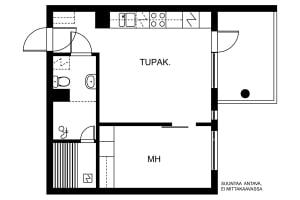 Espoo, Westend, Mäenrinne 3-5 D 035