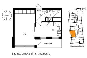 Helsinki, Etelä-Haaga, Kangaspellontie 5 A 005