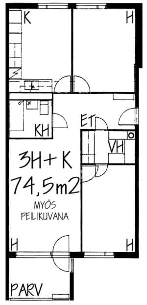 Helsinki, Itä-Pasila, Junailijankuja 10 B 025