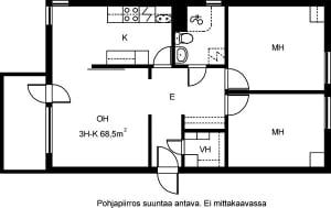 Helsinki, Katajanokka, Matruusinkatu 2 D 046
