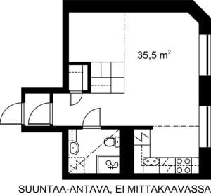 Helsinki, Kruununhaka, Snellmaninkatu 23 A 004