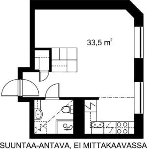 Helsinki, Kruununhaka, Snellmaninkatu 23 A 002