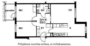 Helsinki, Mellunmäki, Laakavuorentie 4 B 018