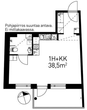 Helsinki, Pitäjänmäki, Kutomotie 8a A 009