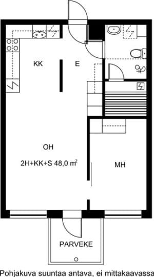 Jyväskylä, Lutakko, Kiramo 3 A 005