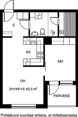 Jyväskylä, Lutakko, Kiramo 3 A 002