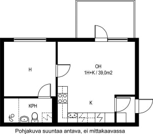 Kirkkonummi, Finnsbacka, Lukkarinmäki 1 D C 021