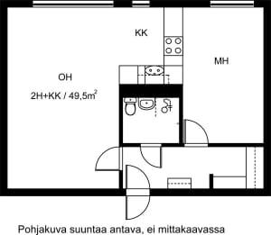 Lahti, Kärpänen, Kiekkokatu 1-3 E 034