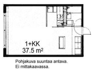 Oulu, Kaukovainio, Tuulihaukantie 9 B 011