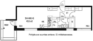 Oulu, Keskusta, Tervaraitti 2 A 032