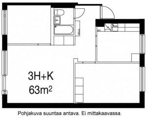 Oulu, Laanila, Laamannintie 15 A 003