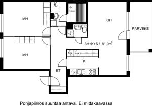 Turku, Keskusta, Sukkulakuja 2 B 037