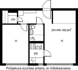 Vantaa, Hakunila, Hiirakkokuja 4 B 012