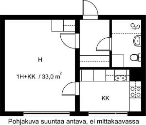 Vantaa, Hakunila, Heporinne 4 B 029