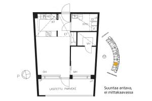Vantaa, Keimolanmäki, Leksankuja 3 A 004