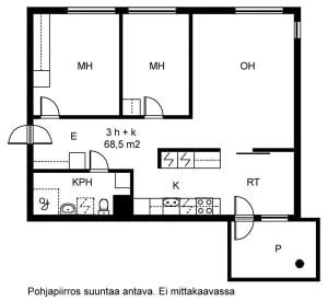 Vantaa, Tikkurila, Veturikuja 3 A 001