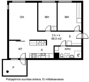 Vantaa, Tikkurila, Veturikuja 3 A 004