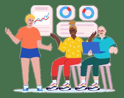 Intro to Python illustration learning
