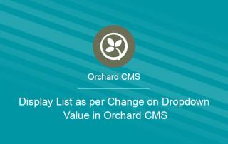 Zoho/orchard CMS