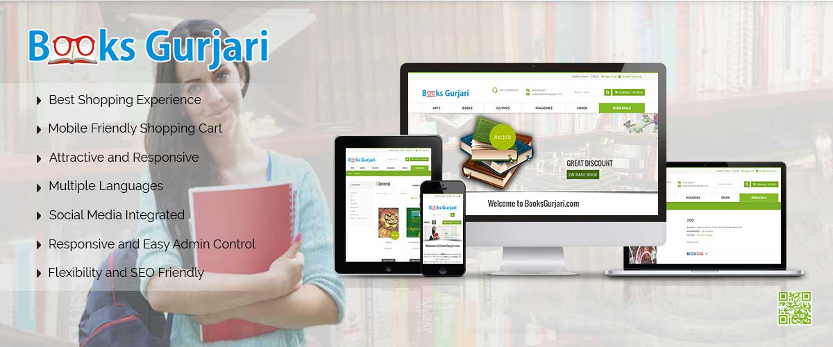 Books Gurjari – nopCommerce Store Development