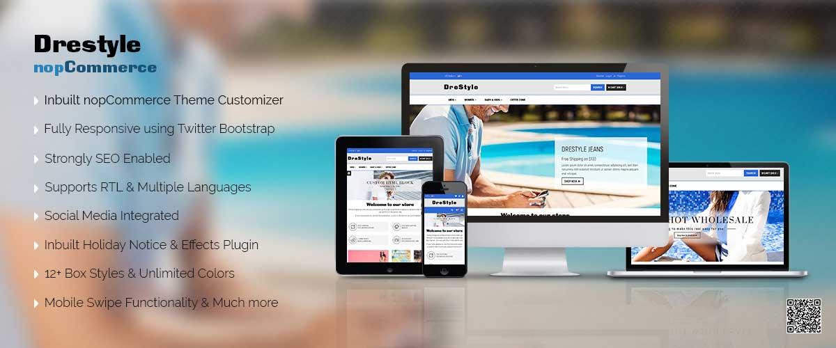 DreStyle – Responsive nopCommerce Theme Designing