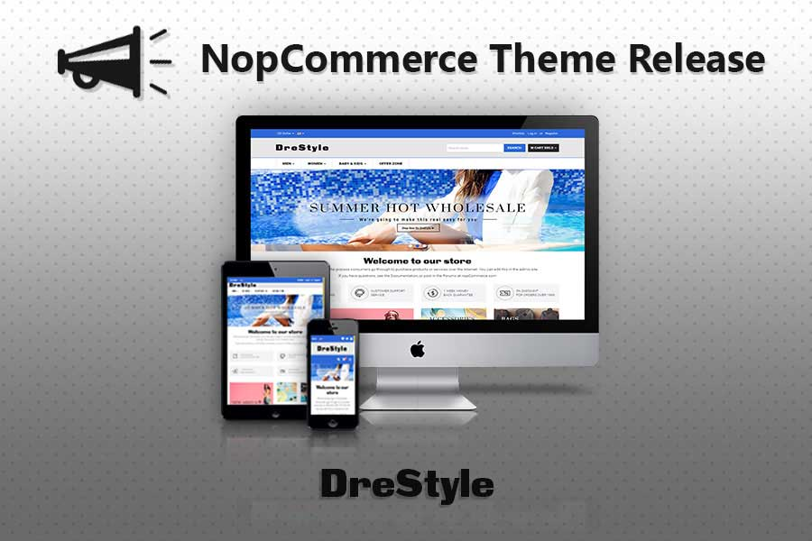 Fully Featured Drestyle nopCommerce Fashion Theme
