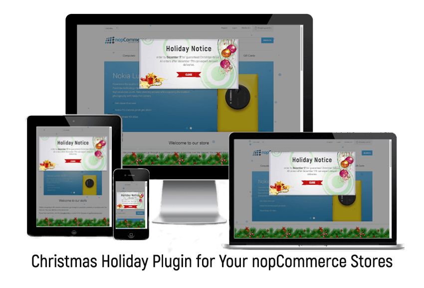 Get Christmas Holiday Plugin for Your nopCommerce Stores