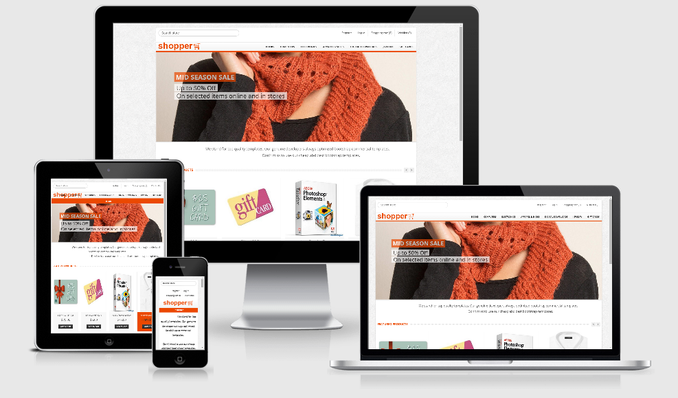nopcommerce free template shopper responsive ecommerce theme