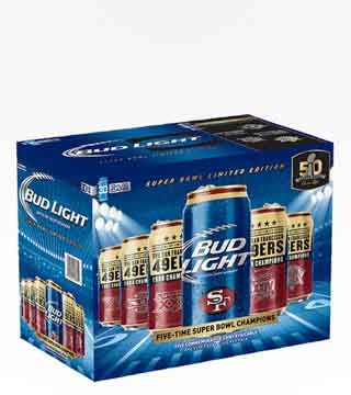 Bud Light Team Cans