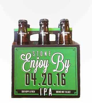 Stone Enjoy By IPA