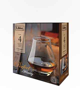 Libbey 4 Pc Whiskey Set
