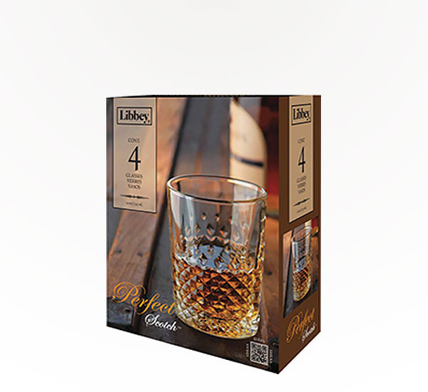 Libbey 4 Pc Scotch Set