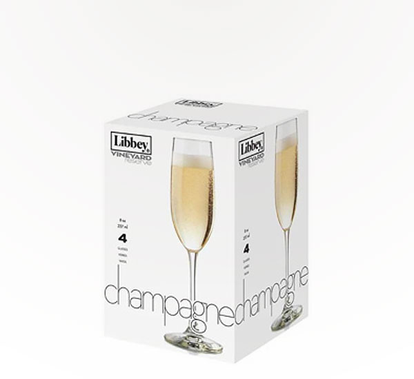 Libbey Vr Champagne S/4