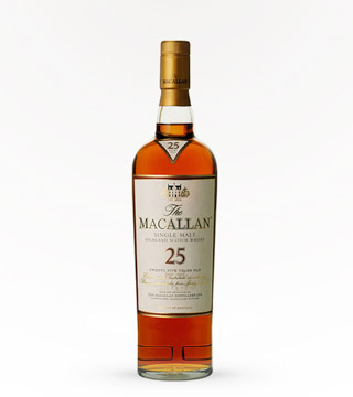 Macallan Scotch 25 Year