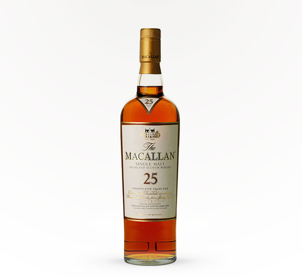 Macallan Scotch 25 Year
