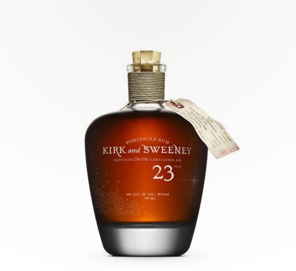 Kirk & Sweeney Dominican Rum 23 year